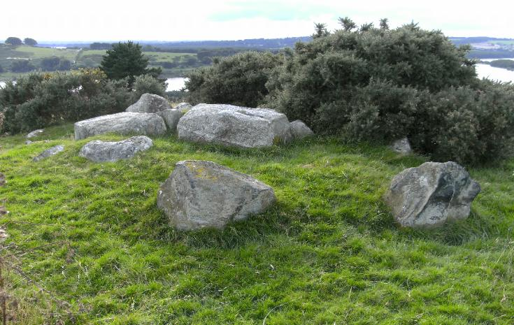 CARRIG WEDGE TOMB, COUNTY WICKLOW