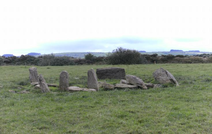 GOWLANE STONE CIRCLE, COUNTY CORK