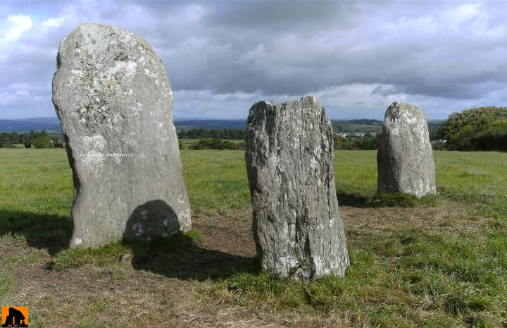 LETTERGORMAN FOUR-POSTER STONE CIRCLE, COUNTY CORK